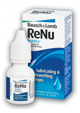 ReNu Multi+ Rewetting Drops (8 мл)